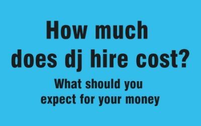 How much does dj hire cost